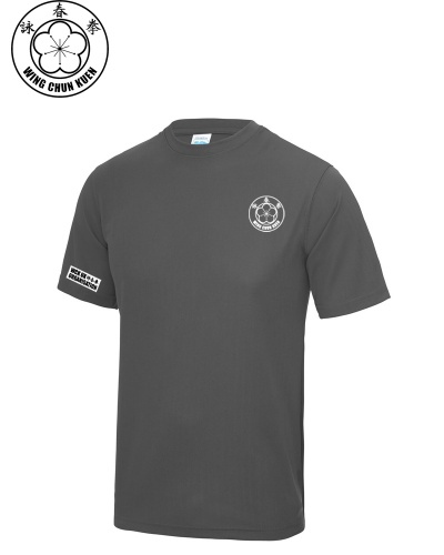 WCKUK Mens Charcoal Training Shirt